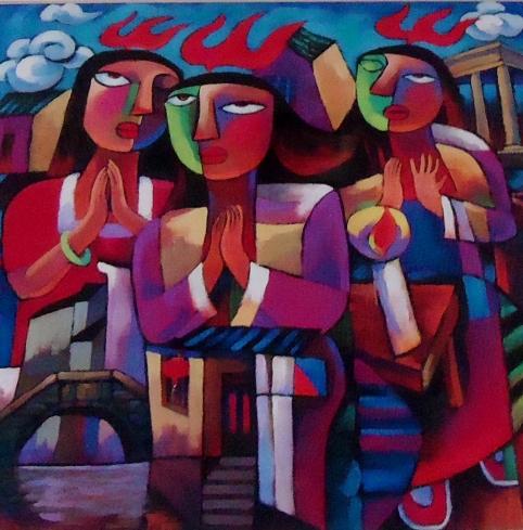 Pentecost by He Qi